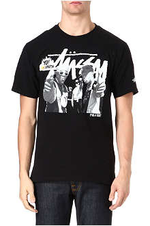 STUSSY MTV Public Enemy t-shirt