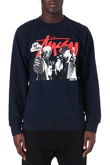STUSSY MTV Public Enemy sweatshirt