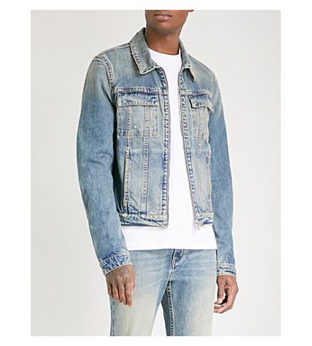 HELMUT LANG Reversible 87 denim jacket (Tinted+wash