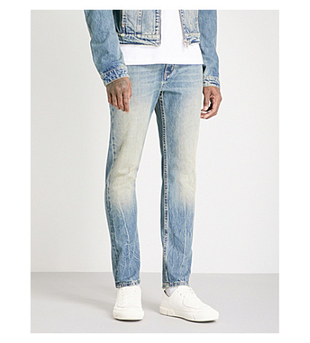 HELMUT LANG 97 slim-fit straight jeans (Tinted+wash
