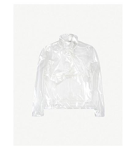 HELMUT LANG PVC popover jacket (Clear