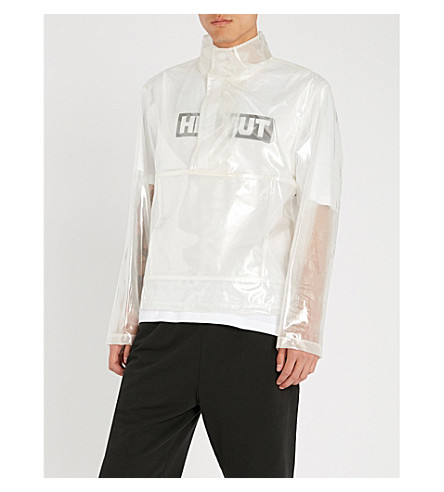 HELMUT LANG PVC popover jacket (Clear