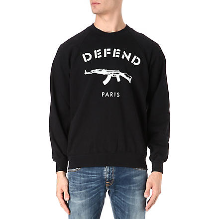 DEFEND Paris sweatshirt (Black
