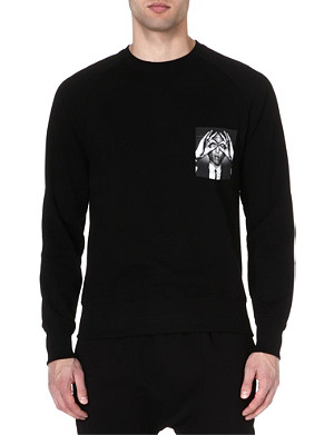 HYPE MEANS NOTHING Pharrell pocket sweatshirt