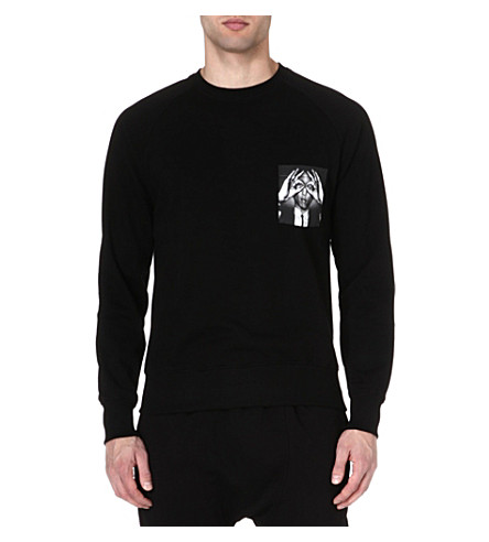 HYPE MEANS NOTHING Pharrell pocket sweatshirt (Black
