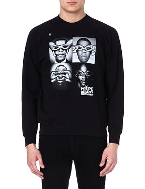 HYPE MEANS NOTHING Total four sweatshirt