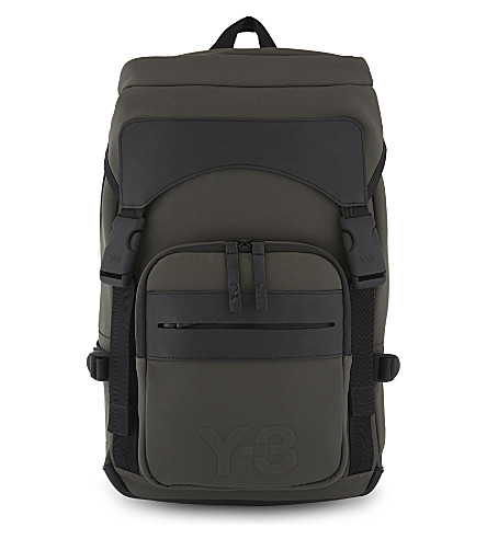 Y3 Ultratech backpack (Black+olive