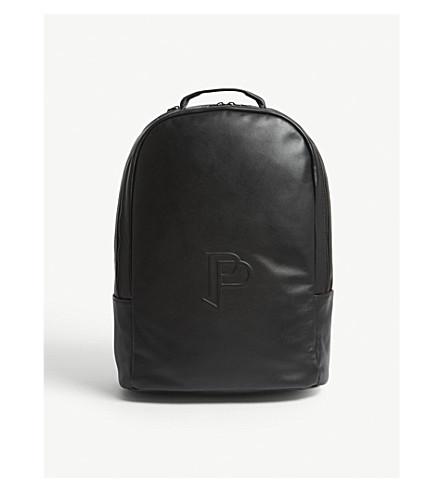 ADIDAS cuero mochila Pogba Negro de Paul YvvTRqwO