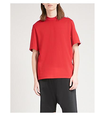 Y3 Y3 cotton-blend T-shirt (Chilli+pepper