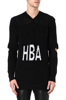 HOOD BY AIR Corgi hockey jumper
