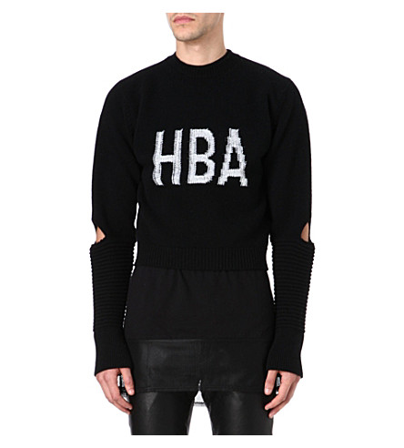 HOOD BY AIR Corgi Cage jumper (Black