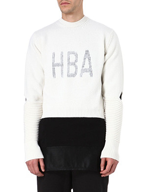 HOOD BY AIR Corgi Cage jumper