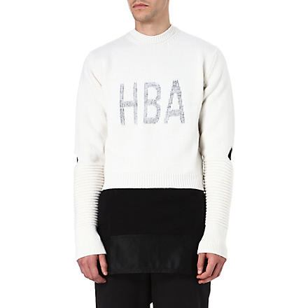 HOOD BY AIR Corgi Cage jumper (White
