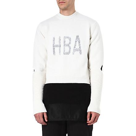 HOOD BY AIR Corgi Cage jumper (White
