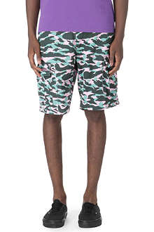 BILLIONAIRE BOYS CLUB Camo cargo shorts
