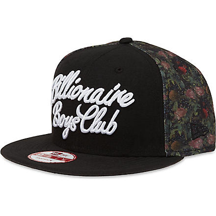 BILLIONAIRE BOYS CLUB Floral snapback (Multi
