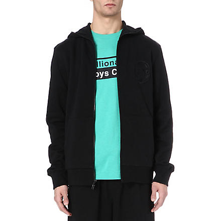 BILLIONAIRE BOYS CLUB Logo jersey hoody (Black