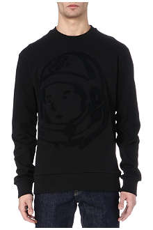 BILLIONAIRE BOYS CLUB Textured-helmet sweatshirt