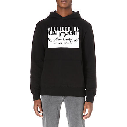 BILLIONAIRE BOYS CLUB Anniversary sweatshirt (Black