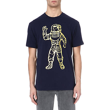 BILLIONAIRE BOYS CLUB Full astronaut t-shirt (Peacoat / gold