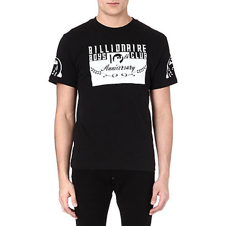 BILLIONAIRE BOYS CLUB 10th Anniversary t-shirt (Black