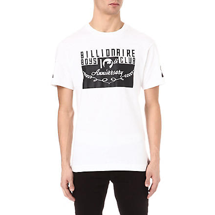 BILLIONAIRE BOYS CLUB Arch logo t-shirt (White