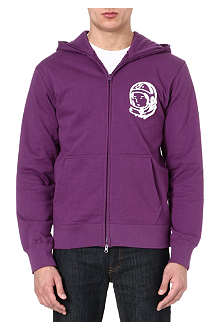 BILLIONAIRE BOYS CLUB Helmet zip-front hoody