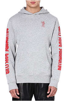 BILLIONAIRE BOYS CLUB Two-tone cotton hoody