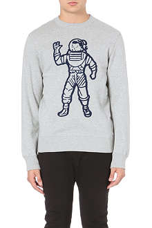 BILLIONAIRE BOYS CLUB Astronaught cotton-jersey sweatshirt