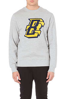 BILLIONAIRE BOYS CLUB Flying B cotton-jersey sweatshirt