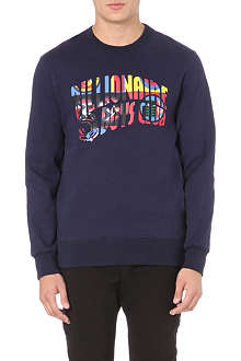 BILLIONAIRE BOYS CLUB International arch-logo sweatshirt