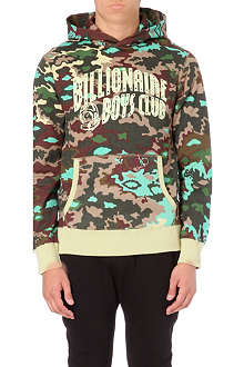 BILLIONAIRE BOYS CLUB Nothing camo cotton-jersey hoody