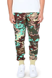 BILLIONAIRE BOYS CLUB Camo cotton-jersey jogging bottoms