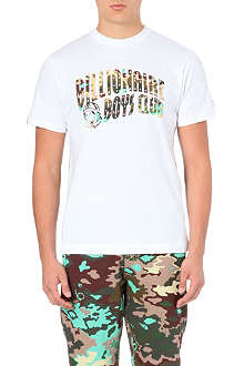BILLIONAIRE BOYS CLUB Camo logo t-shirt