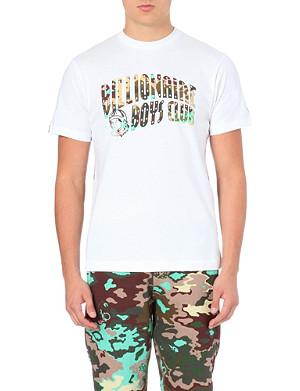 BILLIONAIRE BOYS CLUB Camo logo t-shirt
