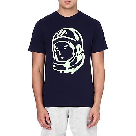 BILLIONAIRE BOYS CLUB Classic Helmet t-shirt (Peacoat
