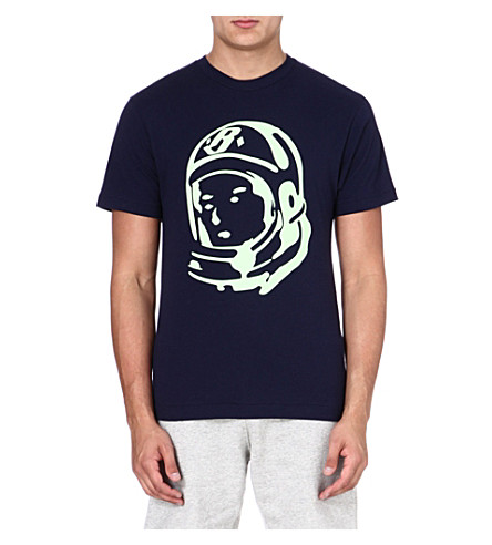 BILLIONAIRE BOYS CLUB Classic Helmet t-shirt (Peacoat