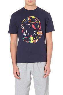 BILLIONAIRE BOYS CLUB International Helmet cotton-jersey t-shirt