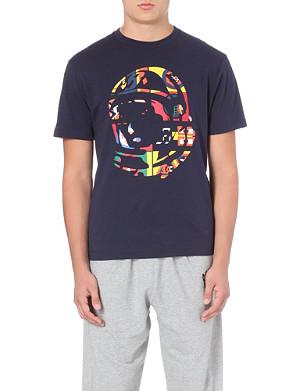 BILLIONAIRE BOYS CLUB International Helmet cotton-jersey t-shirt