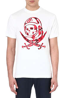 BILLIONAIRE BOYS CLUB Logo cotton t-shirt
