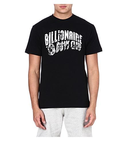 BILLIONAIRE BOYS CLUB Arch logo t-shirt (Black