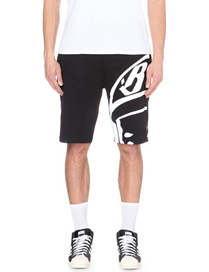 BILLIONAIRE BOYS CLUB Printed cotton-jersey shorts