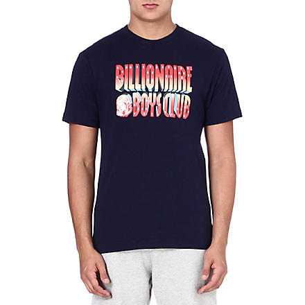 BILLIONAIRE BOYS CLUB 3D logo t-shirt (Peacoat