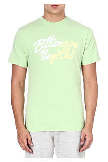 BILLIONAIRE BOYS CLUB Slash logo t-shirt