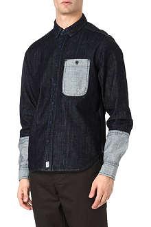 BILLIONAIRE BOYS CLUB Trucker denim shirt