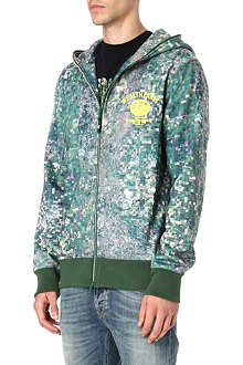 BILLIONAIRE BOYS CLUB Landscape zip-up hoody