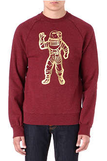 BILLIONAIRE BOYS CLUB Foil astronaut sweatshirt