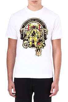 BILLIONAIRE BOYS CLUB Crest print t-shirt