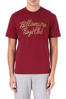 BILLIONAIRE BOYS CLUB Gold Rope logo t-shirt