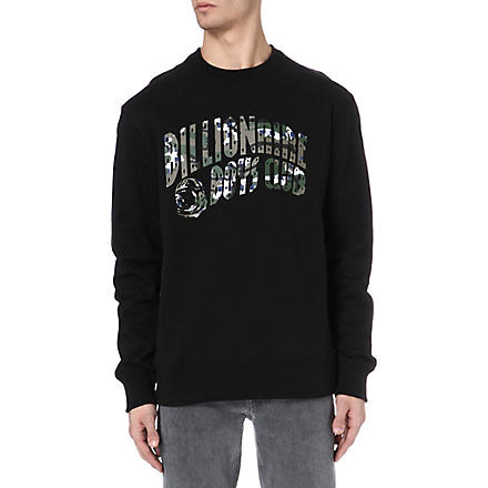 BILLIONAIRE BOYS CLUB Camo sweatshirt (Black